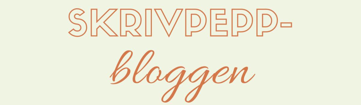 Skrivpeppbloggen